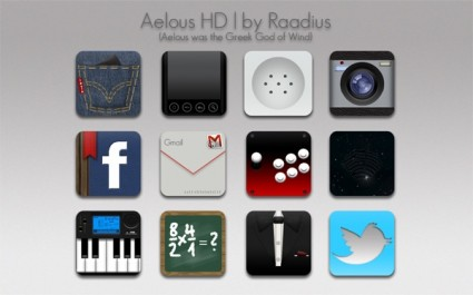 80+ Android Icons Set