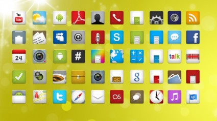 200+ Android Free Icons