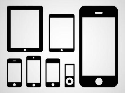 Apple Devices Vector Icons
