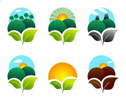 Green Ecology Icons Free Download