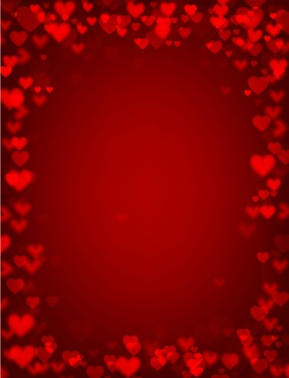 10 Valentine Love Vector Backgrounds
