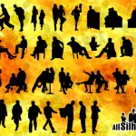 100+ Vector Business Silhouettes
