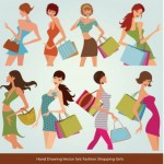 14 Vector Fashion Shopping Download