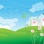 3 Cute Floral Spring Backgrounds