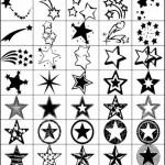 35 Star Photoshop Brushes