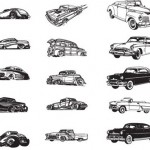 15+ Cars Vector Silhouettes
