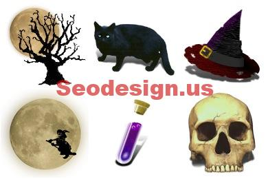Monsters Halloween Icons