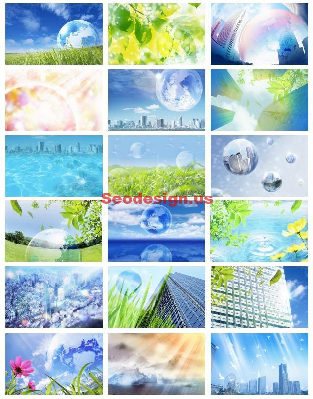 Nature Vector Backgrounds Wallpapers