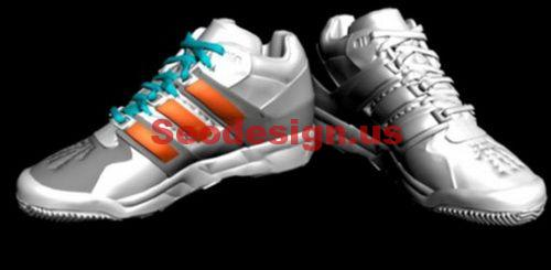 3D Basketball Shoes