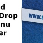 Add Fixed Drop Down Menu On Blogger