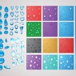20+ Water Drops Vector