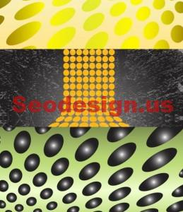 Dots Vector Backgrounds