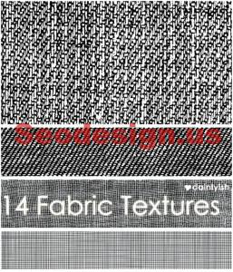 Black White Fabric Textures