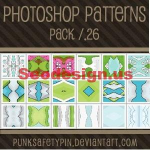 Colorful Photoshop Patterns