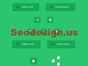62 CSS Hover Buttons Free