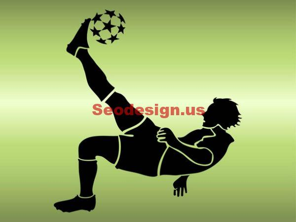 Soccer Player Vector Illustrations