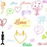 80+ Love Doodles Photoshop Brushes