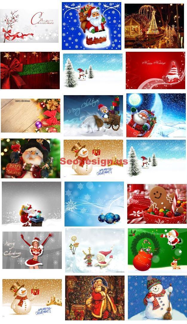 Cartoon Christmas Wallpapers Download