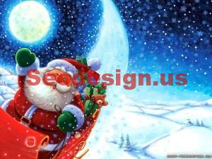 Cartoon Christmas Wallpapers