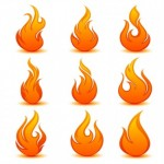 20+ Vector Flame Icons Download