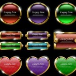 20+ Luxury Gold Web Buttons