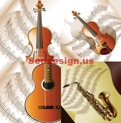 Music Vector Art Illustrations
