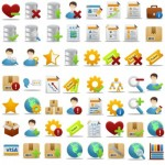 110+ Business Office Icons Set