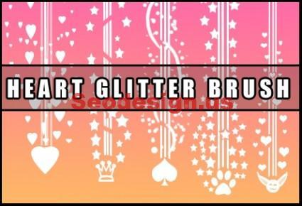Valentine Heart Brush Download