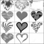 16 Valentine Heart Brush Download