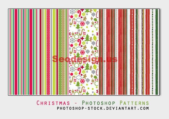Christmas Photoshop Patterns