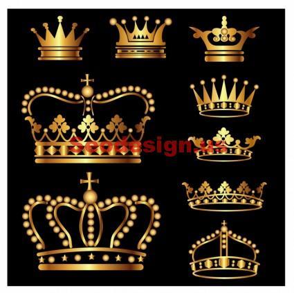 Crown Vector Art Graphics Download