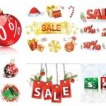20 Vector Christmas Decorative Elements