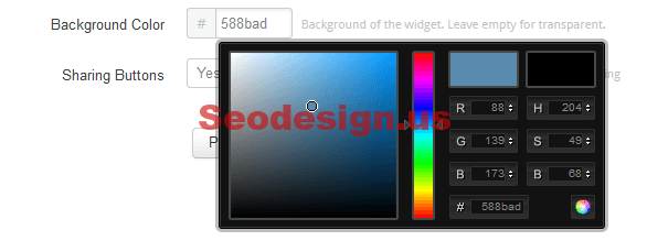 Add Instagram Widget For Blogger