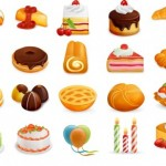 45 Sweets Icons Set Download