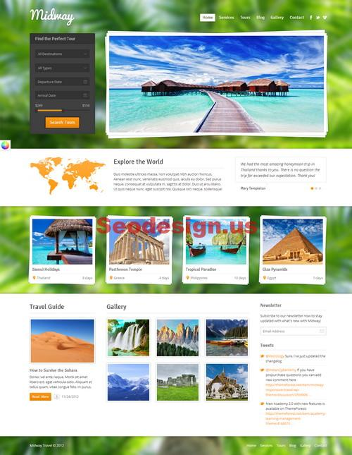 Premium Travel Wordpress Themes