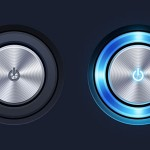 Player Radio PSD Buttons Free