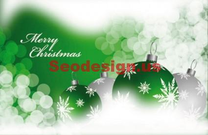 Christmas Ball Vector Graphics Download
