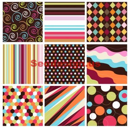 Grunge Colorful Vector Backgrounds