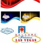6 Las Vegas Vector Backgrounds