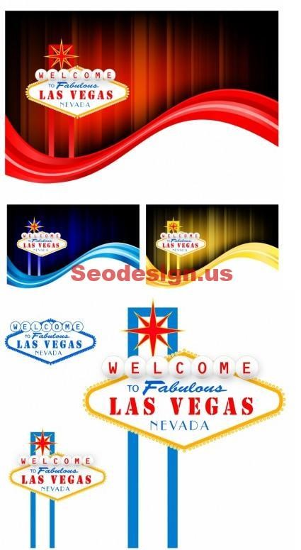 Las Vegas Vector Backgrounds Download