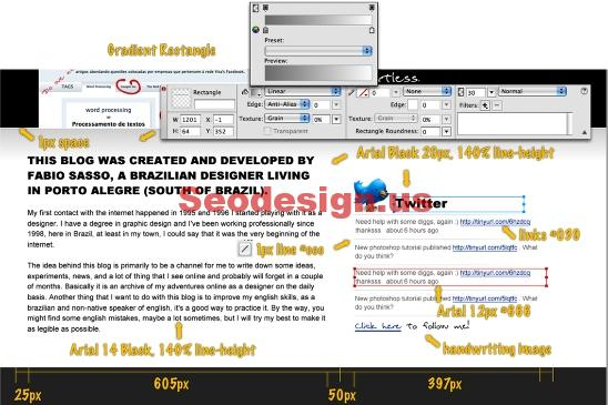Create website in fireworks