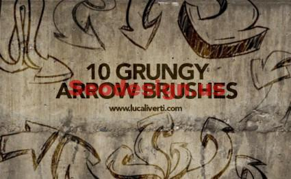 Free Arrow Brushes For Photoshop