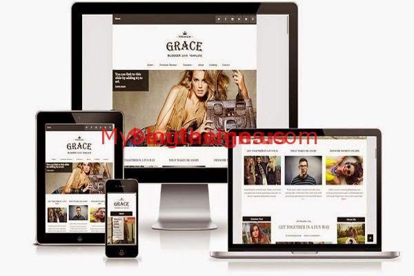 Responsive Magazine Blogger Templates