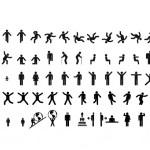 40+ People Vector Pictogram