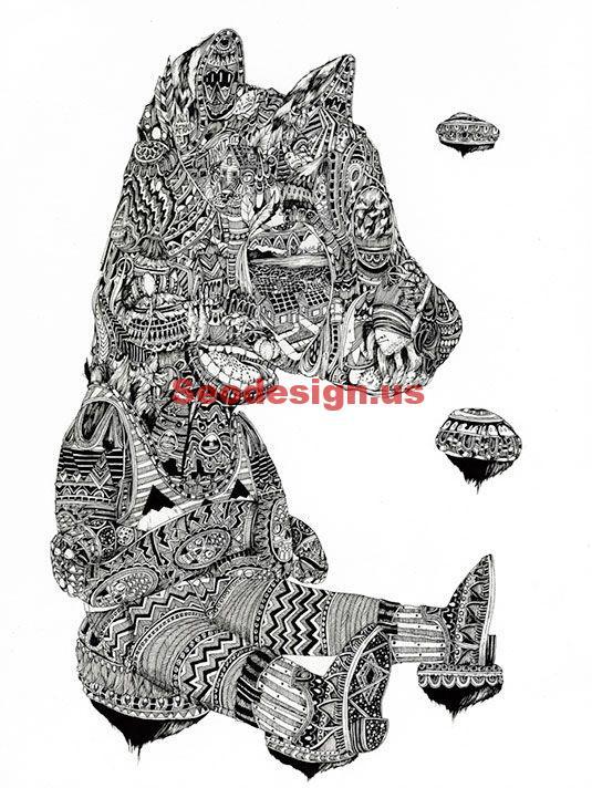 Doodle Art Illustrations Sample