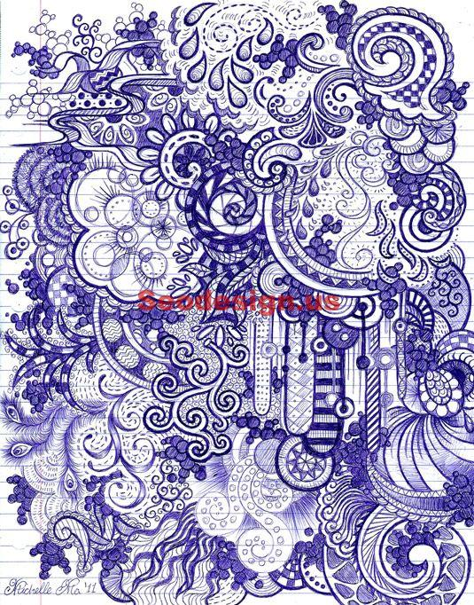 Doodle Art Illustrations Sample