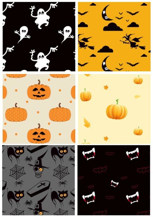 9 Abstract Halloween Backgrounds Free