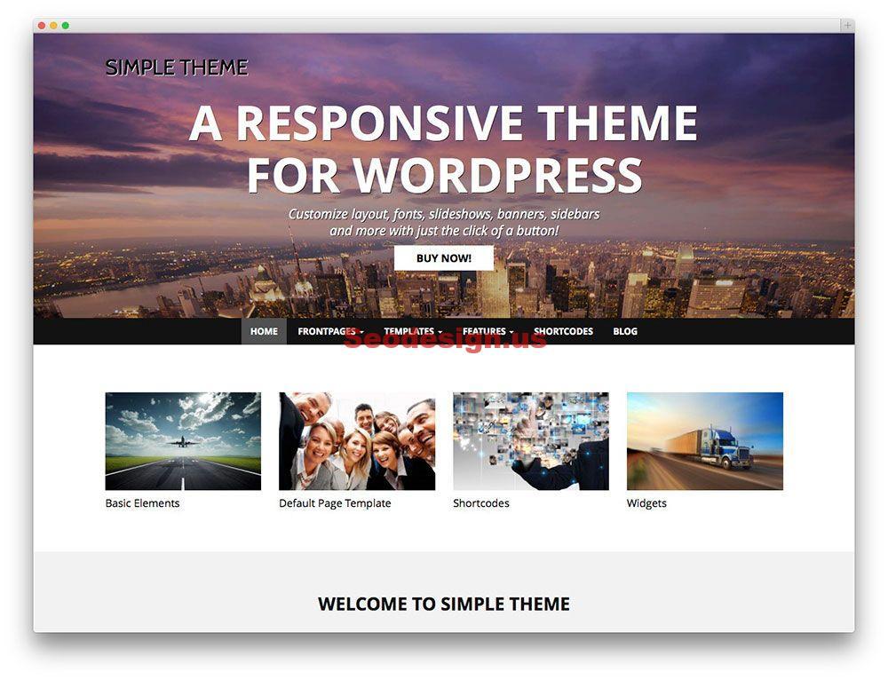 10 Best Responsive Wordpress Themes 2015
