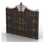 7 Luxury Doors 3D Models