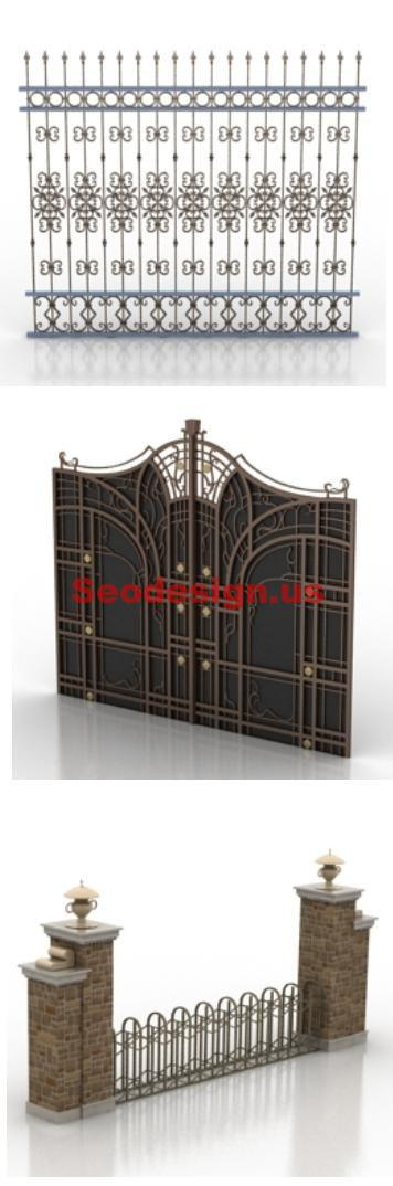 Luxury Doors 3D Models